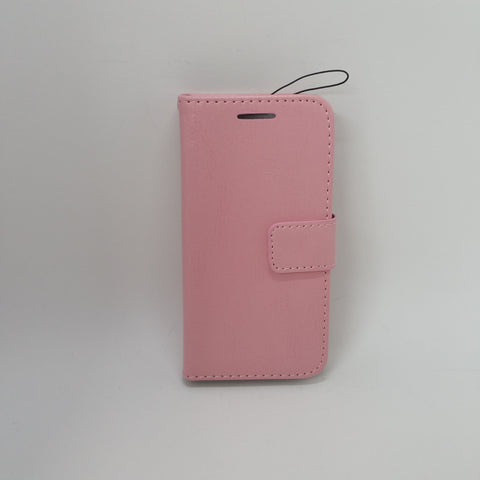 Apple iTouch 5 / 6 - Book Style Wallet Case with Strap