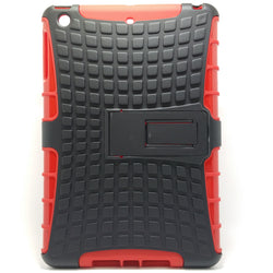 Apple iPad Mini 2 / 3 - Tough Jacket Hybrid Rugged Heavy Duty Hard Back Cover Case with Kickstand