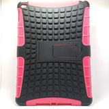 Apple iPad Air 2 - Tough Jacket Hybrid Rugged Heavy Duty Hard Back Cover Case with Kickstand [Pro-Mobile]