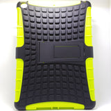 Apple iPad Air / New iPad 2017 - Tough Jacket Hybrid Rugged Heavy Duty Hard Back Cover Case with Kickstand