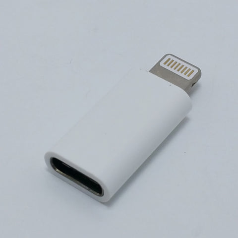 USB Type-C Female to Lightning Male Adapter
