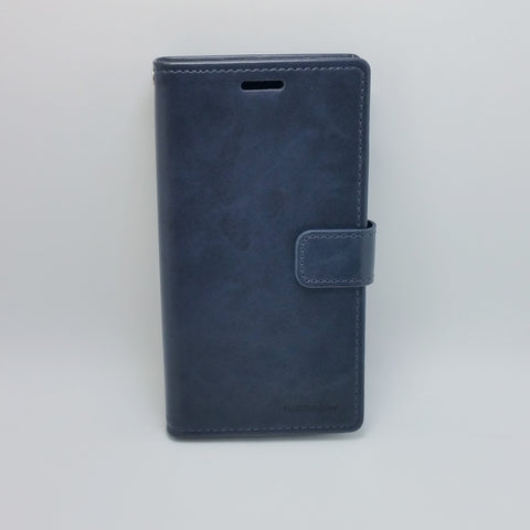 Samsung Galaxy S9 Plus - Goospery Blue Moon Diary Case [Pro-Mobile]