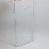 Samsung Galaxy J5 Prime - Clear Transparent Silicone Phone Case With Dust Plug [Pro-Mobile]
