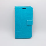 Motorola Moto X Play - Magnetic Wallet Card Holder Flip Stand Case Cover with Strap [Pro-Mobile]