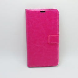 "Alcatel idol 3 5.5"" - Book Style Wallet Case with Strap"