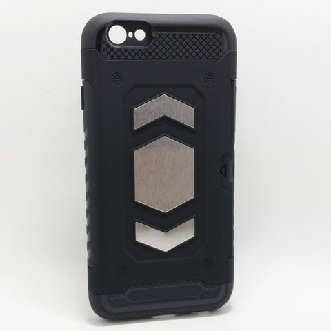 Apple iPhone 6 / 6S - Magnet Enabled Badge with Credit Card Holder Case