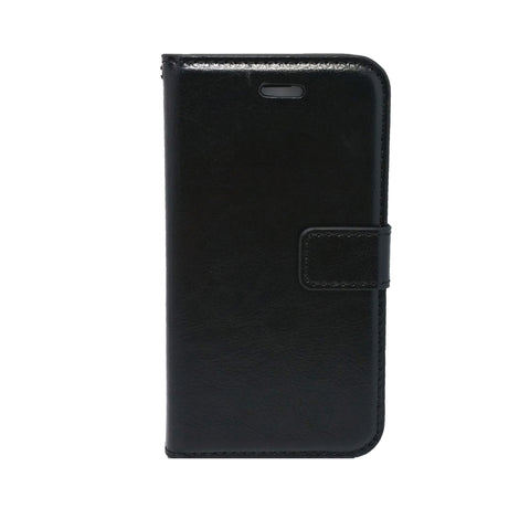 Apple iPhone 11 Pro - Magnetic Wallet Card Holder Flip Stand Case Cover with Strap [Pro-Mobile]