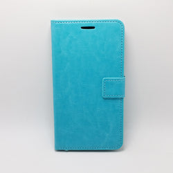 LG X Power - Book Style Wallet Case With Strap