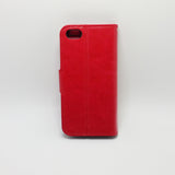 Apple iPhone 5C - Book Style Wallet Case with Strap