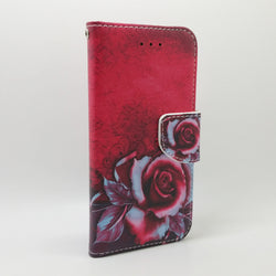 LG Q6 - New Book Style Wallet Case with Design