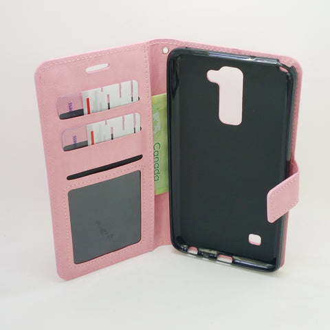 more photos de4df f6728 LG Stylo 2 / Stylo 2 Plus / Stylus 2 - Book Style Wallet Case with ...