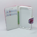 Apple iPod Touch 5 - Magnetic Wallet Card Holder Flip Stand Case Design [Pro-Mobile]