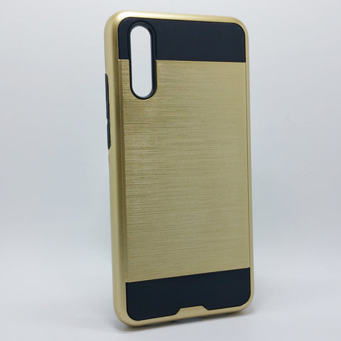 HuaWei P20 - Shockproof Slim Dual Layer Brush Metal Case Cover [Pro-Mobile]