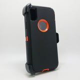 Apple iPhone X / XS - Heavy Duty Fashion Defender Case with Rotating Belt Clip [Pro-Mobile]