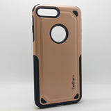 Apple iPhone 7 Plus / 8 Plus - TanStar Slim Sleek Dual-Layered Armor Case