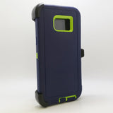 Samsung Galaxy S6 Edge Plus - Heavy Duty Fashion Defender Case with Rotating Belt Clip [Pro-Mobile]
