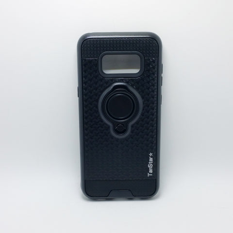 Samsung Galaxy S8 Plus - TanStar Magnet Enabled Case with Ring Kickstand