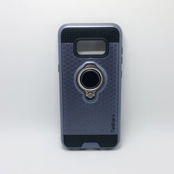 Samsung Galaxy S8 - TanStar Magnet Enabled Case with Ring Kickstand