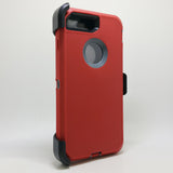 Apple iPhone 7 Plus / 8 Plus - Heavy Duty Fashion Defender Case with Rotating Belt Clip [Pro-Mobile]