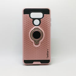LG G6 - TanStar Magnet Enabled Case with Ring Kickstand