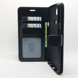 LG X Power 3 - Magnetic Wallet Card Holder Flip Stand Case Cover with Strap [Pro-Mobile]
