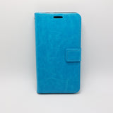Alcatel A50 - Magnetic Wallet Card Holder Flip Stand Case Cover with Strap [Pro-Mobile]