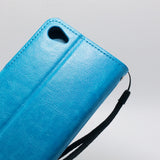 Alcatel A50 - Book Style Wallet Case with Strap