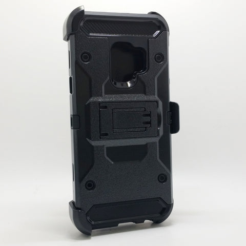 Samsung Galaxy S9 Plus - Heavy Duty Transformer Case with Rotating Belt Clip [Pro-Mobile]