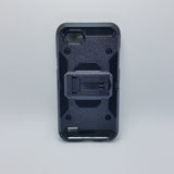 LG Q6 - Heavy Duty Transformer Case with Rotating Belt Clip [Pro-Mobile]