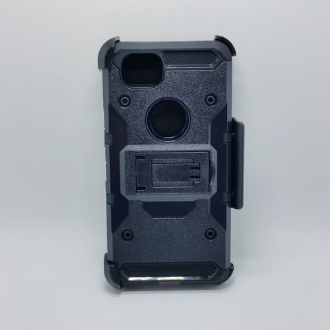 Google Pixel 2 - Heavy Duty Transformer Case with Rotating Belt Clip [Pro-Mobile]