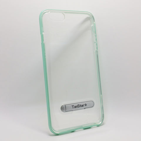 Apple iPhone 6 Plus / 6S Plus - TanStar Aluminum Bumper Frame Case with Kickstand