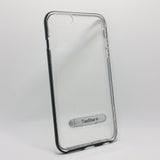 Apple iPhone 6 / 6S - TanStar Aluminum Bumper Frame Case with Kickstand
