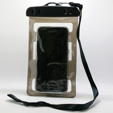 Universal Waterproof Phone Holder Dry Bag with Arm Band and Strap