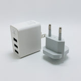 TanStar - Triple USB Port AC Wall Charger Power Adapter
