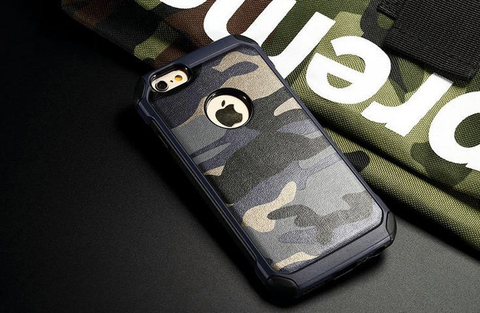 Apple iPhone 6G Plus / 6S Plus - Military Camouflage Case