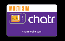 Chatr Mobile Multi SIM Card