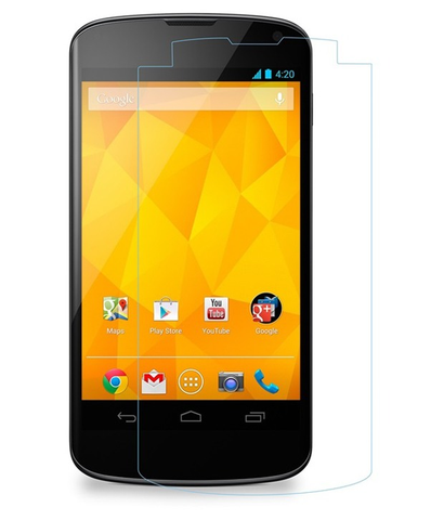 LG Nexus 4 Tempered Glass Screen Protector