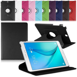 "Samsung Galaxy Tab A 8"" - 360 Rotating Leather Stand Case Smart Cover [Pro-Mobile]"