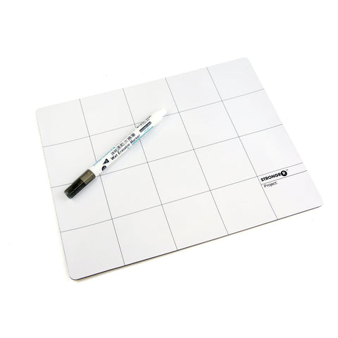 Magnetic Project Mat 25cm x 30cm with Marker