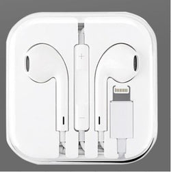 Lightning Earpods Earphones with Remote and Mic for Apple iPhone WUW-R32