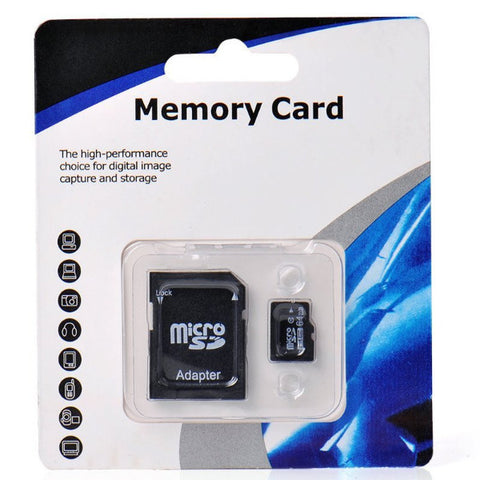 Micro SDHC - 8GB TF Flash Memory with SD Adapter