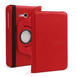 "Samsung Galaxy Tab 3 Lite 7"" - 360 Rotating Leather Stand Case Smart Cover [Pro-Mobile]"