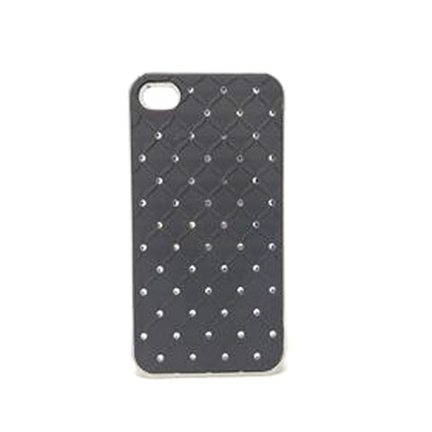 Apple iPhone 4G / 4S - Bling Bling Checked Case