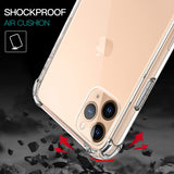 Apple iPhone 12 Pro Max - Reinforced Corners Shockproof Silicone Phone Case [Pro-Mobile]