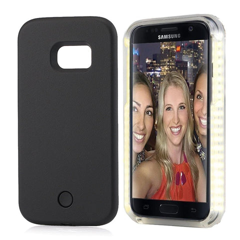 Samsung Galaxy S6 - Dimmable Selfie LED Case