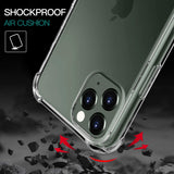 Apple iPhone 12 / 12 Pro - Reinforced Corners Shockproof Silicone Phone Case [Pro-Mobile]