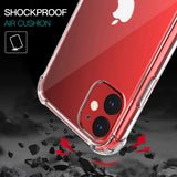 Apple iPhone 11 - Reinforced Corners Silicone Phone Case