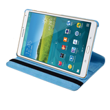 "Samsung Galaxy Tab S 8.4"" - 360 Rotating Leather Stand Case Smart Cover [Pro-Mobile]"