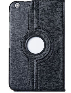 "Samsung Galaxy Tab 3 8""- 360 Rotating Leather Stand Case Smart Cover [Pro-Mobile]"