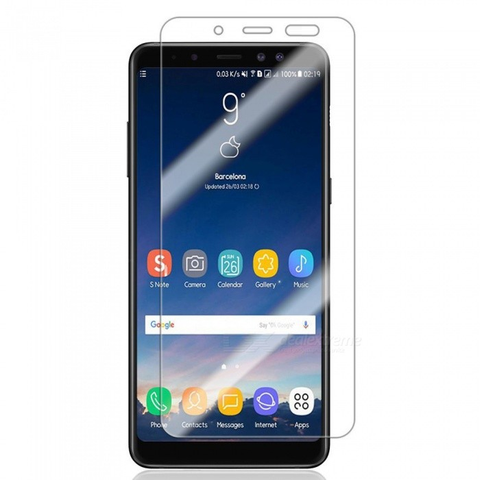 Samsung Galaxy A8 (2018) - Premium Real Tempered Glass Screen Protector Film [Pro-Mobile]